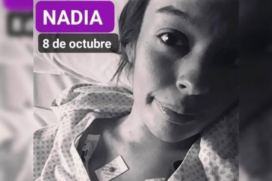 Nadia, la joven que necesita un trasplante.