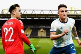 Conoce el horario, formaciones y TV para Argentina-Alemania