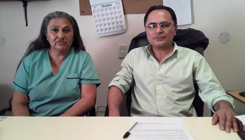 Jorge Elias junto a Patricia Lauquen.