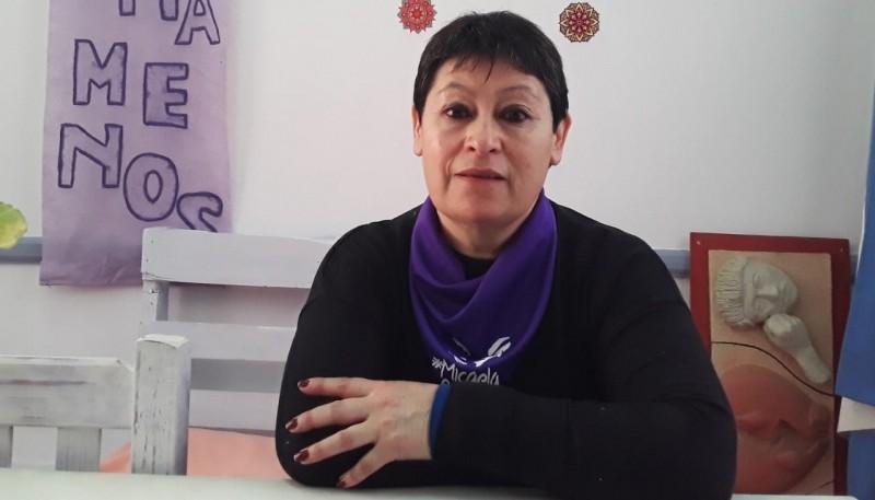 Graciela Avilés, presidente del Consejo de la Mujer de Esquel.