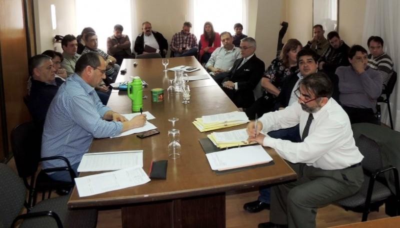 La reunión de comisión con el CPAIA se realizó el martes.