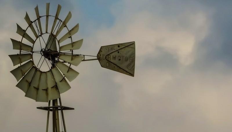 Molino de viento.
