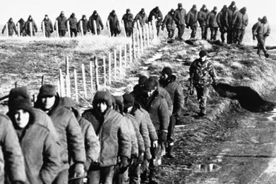 Foto soldados en malvinas