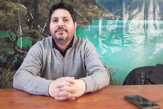 Marcelo Burgos, coordinador del Área de Estadísticas de la Secretaría de Turismo de Esquel.