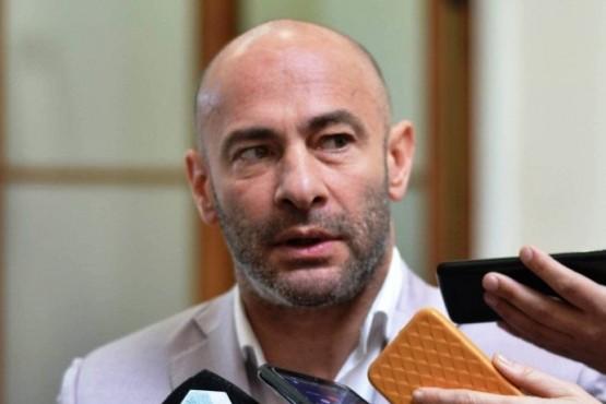 El ministro Coordinador de Gabinete del Chubut, Federico Massoni.