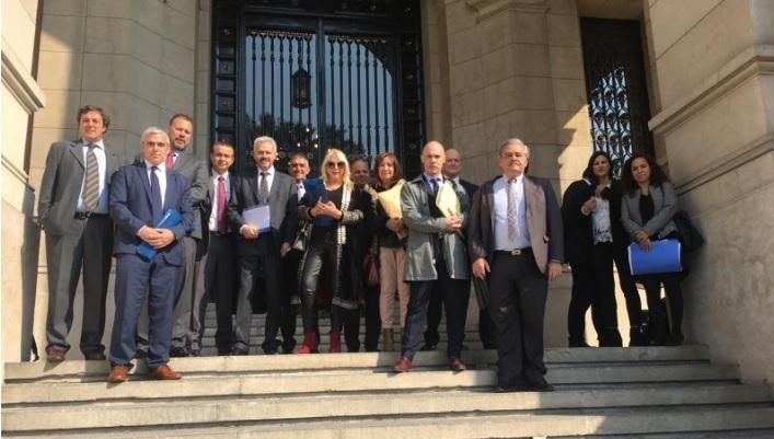 Santa Cruz entre las provincias que presentaron el pedido.