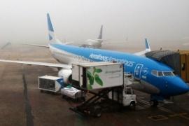 Vuelos cancelados y con demoras en Aeroparque y Ezeiza
