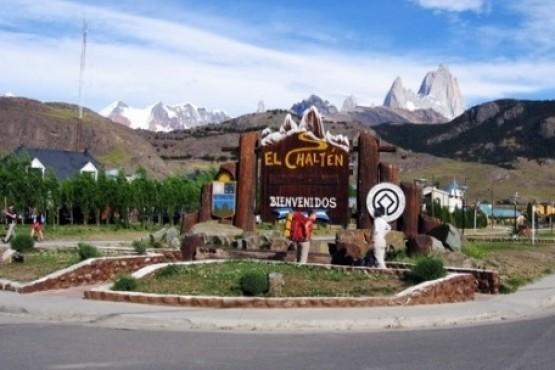 La localidad de El Chaltén.