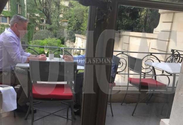 Arcioni fue fotografiado en el lugar. (Noticias) Ar