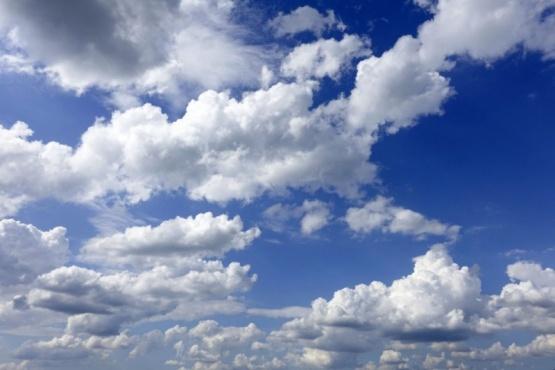Sol y nubes en Santa Cruz