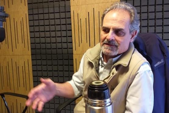 Sergio Pena pasó entre semana por Tiempo FM.
