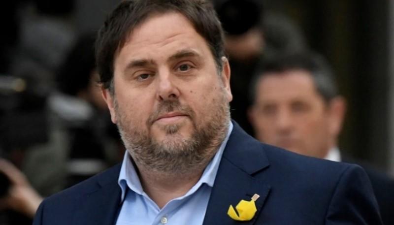Ex vicepresidente de Cataluña Oriol Junqueras.