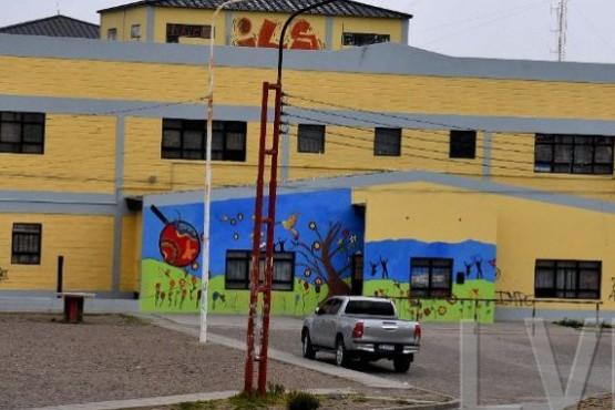 El colegio donde intentaron robar.