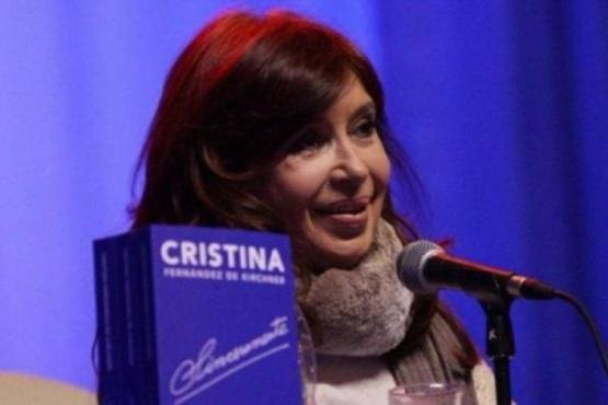 La presentación del libro de Cristina Fernandez de Kirchner.
