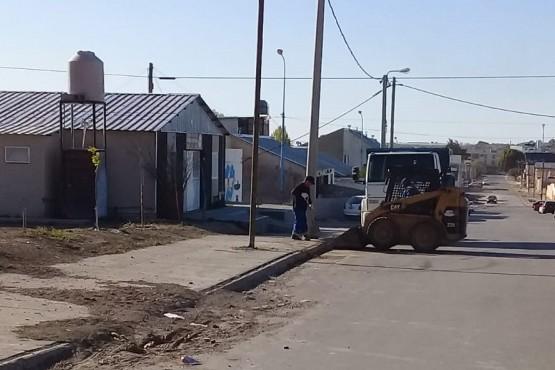 Limpieza en los barrios