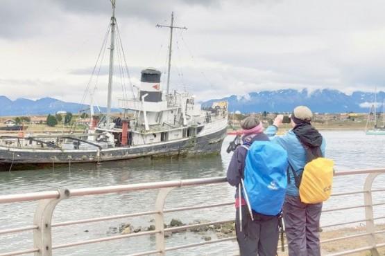 Muchos turistas visitaron Tierra del Fuego.