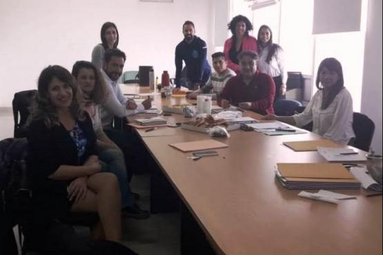 El encuentro fue en instalaciones de la Cooperación de Fomento del Chubut.