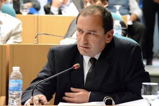 El diputado por el Pueblo de Las Heras, Víctor Álvarez.