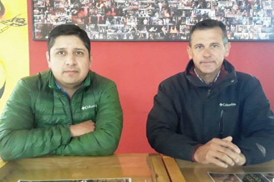 Roberto Iturburu y Damián Sotto.