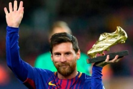 La sexta bota de oro para Messi