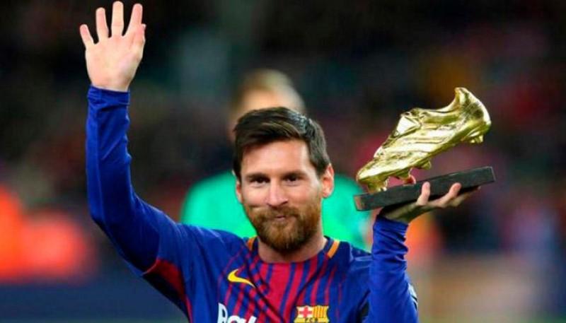 Por sexta vez, Messi se llevó el galardón.