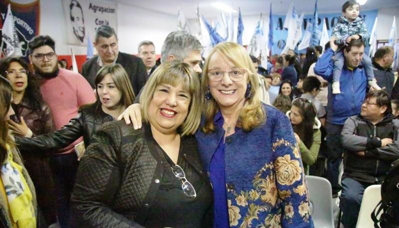 Alicia acompañó a Cristina Aranda. (C.G)