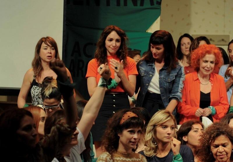 La actriz hizo la denuncia junto al Colectivo de Actrices.