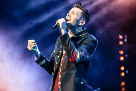 El cantante Axel.