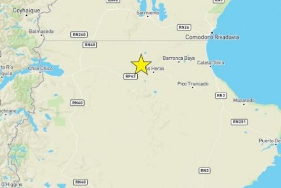 La magnitud del sismo en Las Heras fue de 4.6MI