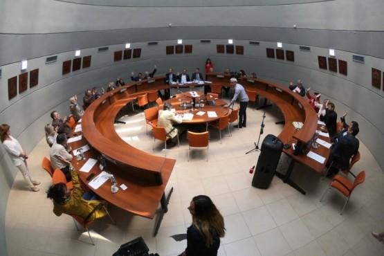 Legislatura en sesión.