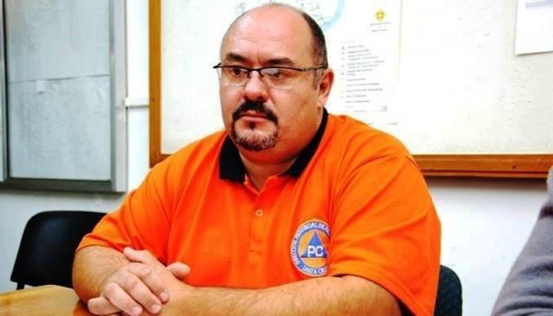 Diego Farias, Protección Civil.
