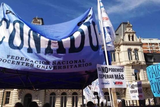 Los representantes de CONADU sostienen el reclamo sobre la necesidad de liquidar parte de la cláusula de forma retroactiva.