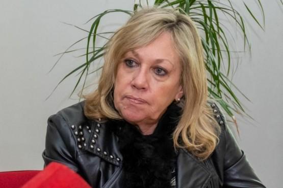 La intendenta, Rossana Artero.