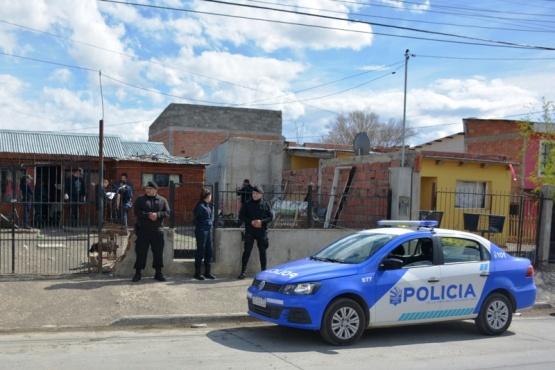 Allanamiento de los efectivos policiales.