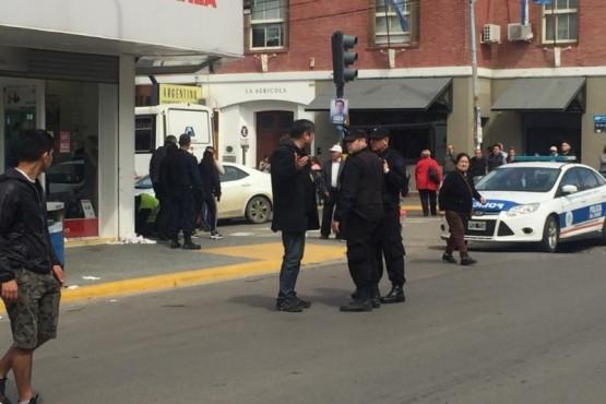 Policía de la provincia de Chubut.
