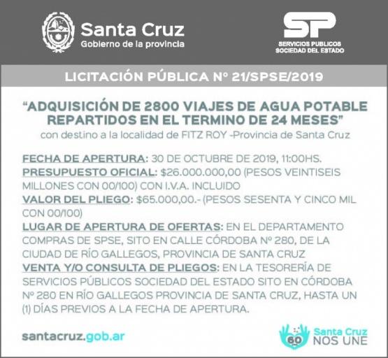 Licitación de Servicios Públicos S.E