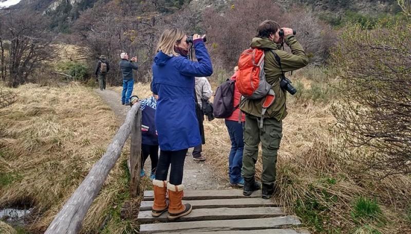 Actividades por el Día Mundial de Observación de Aves en el Parque Nacional Tierra del Fuego.