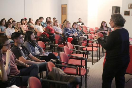 Conferencia de Eva Llamazares (C.G)
