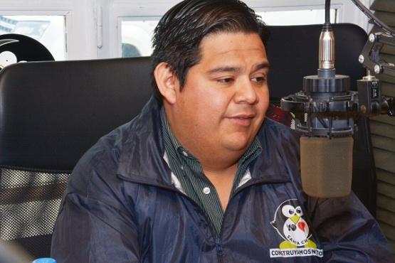 Emilio Maldonado, candidato a concejal de Río Gallegos (Foto C.R.)