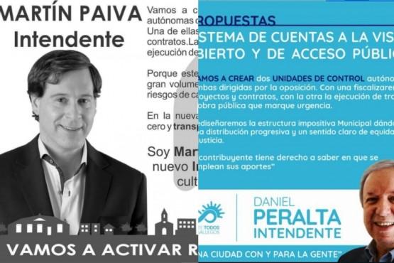 La propuesta de Paiva en 2015 y la de Peralta en 2019.