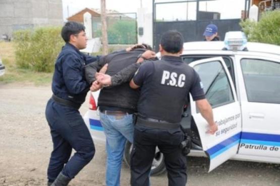 Una de las detenciones del Caso Ángel Pietrafesa (Foto archivo).