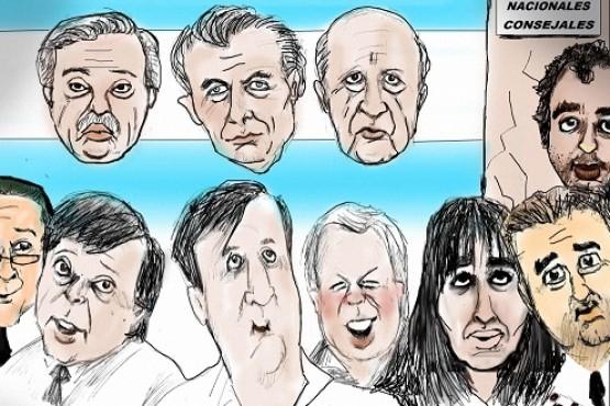 Los candidatos en las elecciones del próximo domingo (Foto Tintoretto)