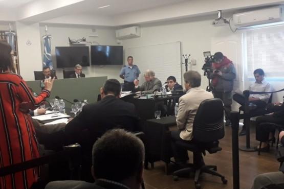Hoy fue la audiencia del juicio oral y público.
