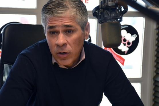 El candidato a Vicegobernador, Pablo González. (Foto C.R.)
