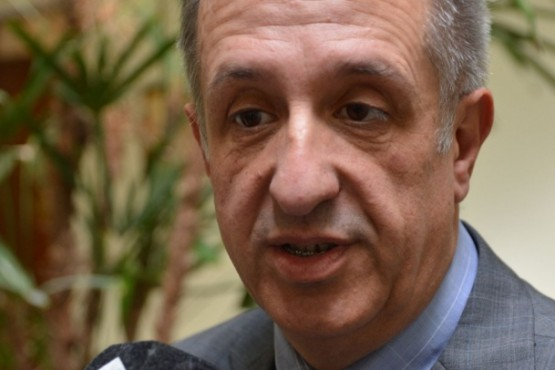 El ministro de Economía y Crédito Público del Chubut, Oscar Antonena.