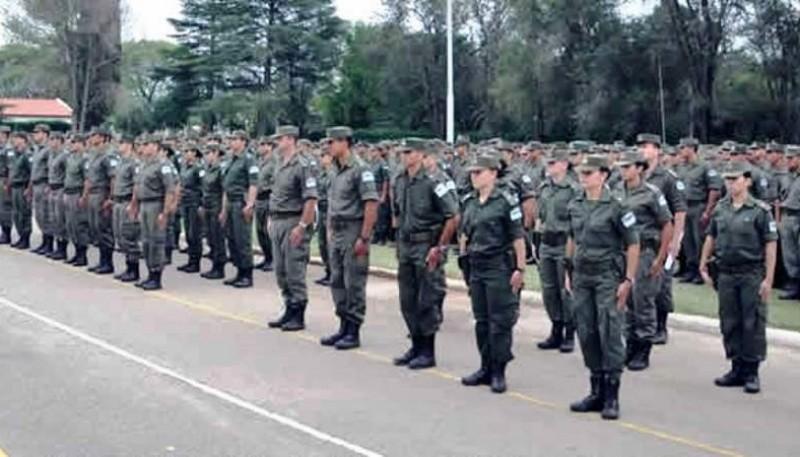 Oficiales de Gendarmería
