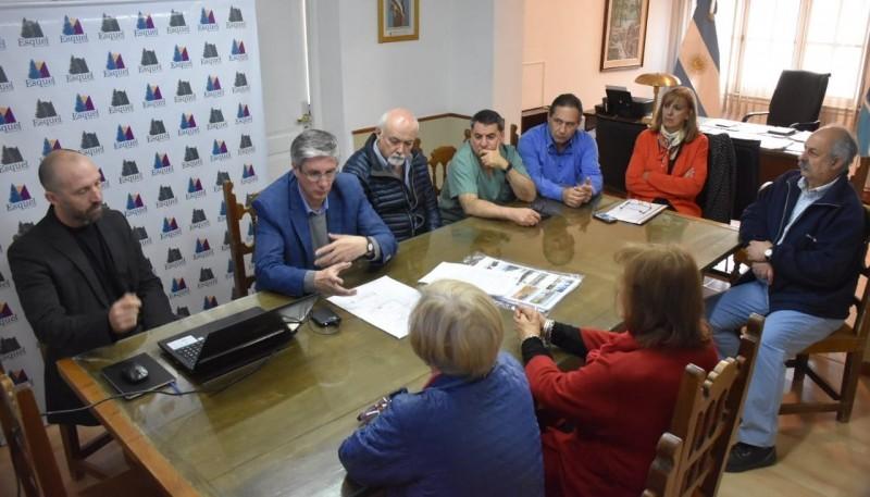 Conferencia realizada ayer en la Comuna esquelense.