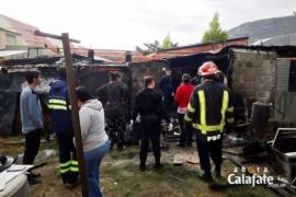 Incendio intencional en un complejo de departamentos