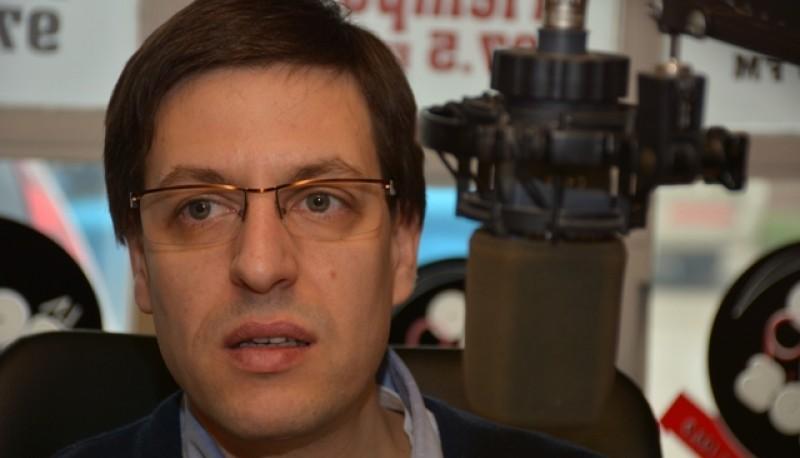 El concejal del FPV, Martín Medvedovsky (Foto C.R.)