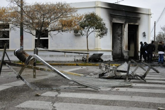 Los destrozos se produjeron el 17 de septiembre.